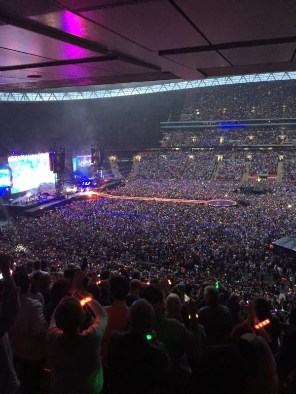 Coldplay live at wembley stadium