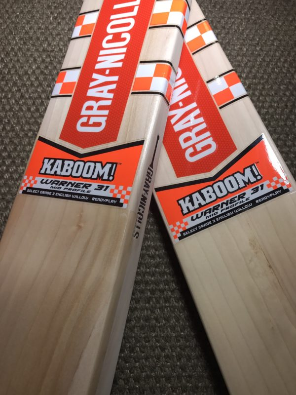 gray Nicolas kaboom cricket bats