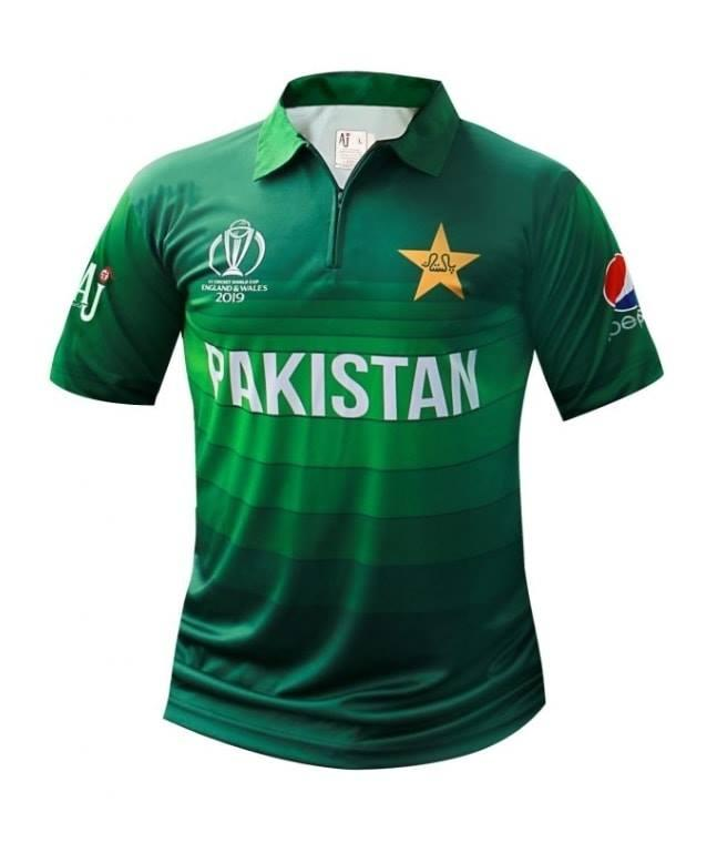 pretty nice 254f4 68cfc Pakistan World Cup 2019 Replica Shirt