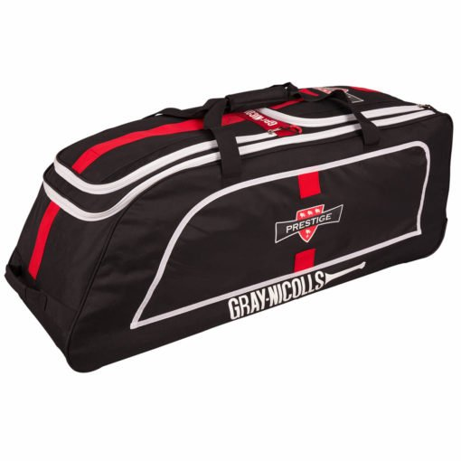 CHAG17Bag Prestige Holdall Black_red_white Front