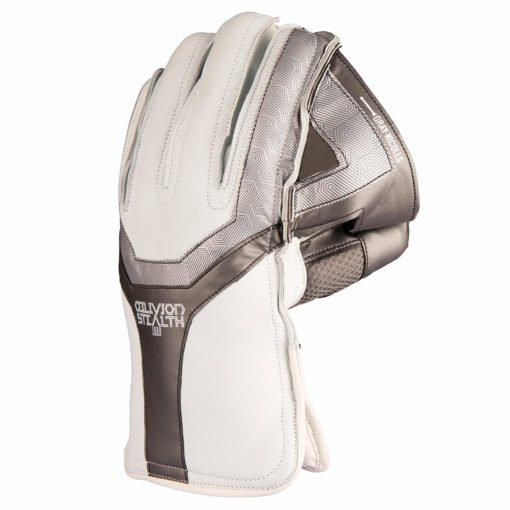 CWAA20Wicket Keeping Glove Oblivion Stealth Leather Back
